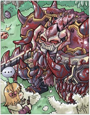Bloody Knight - Monster Database - ROGuard - Ragnarok M: Eternal